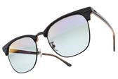 RayBan漸層太陽眼鏡 RB3016F 1278T6 (藍黑棕-藍鏡片) 時尚新寵經典眉框款 # 金橘眼鏡