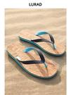 人字拖男士夏季木紋涼拖鞋防滑平跟夾腳涼鞋沙灘鞋歐美潮流 依凡卡時尚
