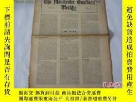 二手書博民逛書店外文原版報紙罕見THE MANCHESTER GUARDIAN WEEKLY 1948年1月22日 第4期 共16
