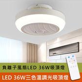 LED 36W臥室吸頂燈遙控吸頂燈風扇燈 GBC-D3001