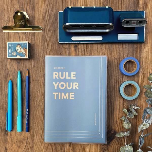 Rule Your Time 頁碼筆記本 v.3 [午夜]【Dimanche迪夢奇】