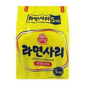 韓國不倒翁拉麵(純麵條) 110g*5【愛買】