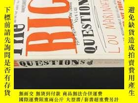 二手書博民逛書店The罕見BIG QUESTIONS LOU MARINOFFY