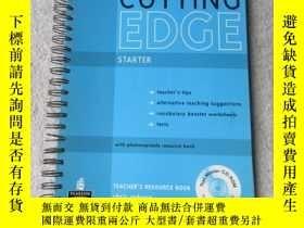 二手書博民逛書店Cutting罕見Edge: Starter - Teacher