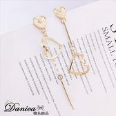 現貨不用等 韓國氣質甜美浪漫愛心珍珠不對稱925銀針耳環 S93352 批發價 Danica 韓系飾品