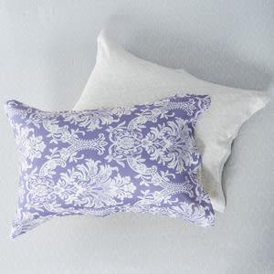 HOLA 風城紫純棉床包兩用被組 單人