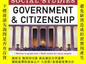 二手書博民逛書店Get罕見Ready! For Social Studies: Government And Citizenshi