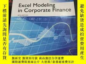 二手書博民逛書店Excel罕見Modeling in Corporate Fin