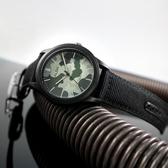 ALBA / VJ42-X291H.AS9K33X1 / 街頭迷彩風 防水100米 日期顯示 帆布手錶 迷彩灰x黑 42mm