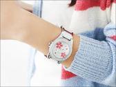 秀氣女孩繡花不繡鋼陶瓷手錶.腕錶 Valentino范倫鐵諾【NE166】原廠正品