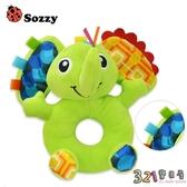 sozzy嬰兒動物手搖鈴圓手搖鈴 毛絨玩具 -321寶貝屋