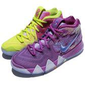 Nike 籃球鞋 Kyrie 4 EP GS Confetti 彩色 四代 鴛鴦 果凍底 厄文 女鞋 大童鞋【PUMP306】 AA2897-900