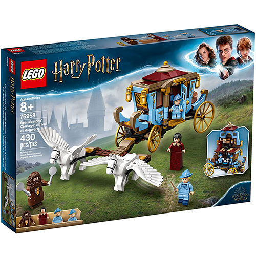 樂高積木 LEGO 2019《 LT75958 》Harry Potter 哈利波特系列 - Beauxbatons' Carriage: Arrival at Hogwarts