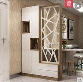 簡約現代創意客廳家具 1.2米隔斷櫃雙面屏風間廳門廳櫃酒櫃玄關櫃【主圖款】