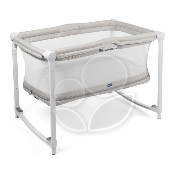 Chicco Zip & Go可攜式兩段嬰兒搖床 (奶油灰) 4980元(無法超取