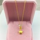 新款越南沙金項鏈歐幣金皇冠星星吊墜鍍金項鏈男女款仿金飾品