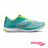 SAUCONY LITEFORM MILES 輕運動休閒鞋款-藍綠