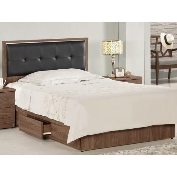 床架 MK-646-2 諾艾爾3.5尺床片型單人床 (床頭+床底)(不含床墊) 【大眾家居舘】