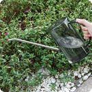 園藝盆栽澆水壺 家用半透明色灑水壺灌根施綠植長嘴澆花壺