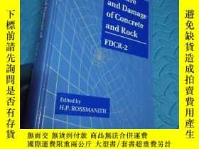 二手書博民逛書店fracture罕見and damage of concrete