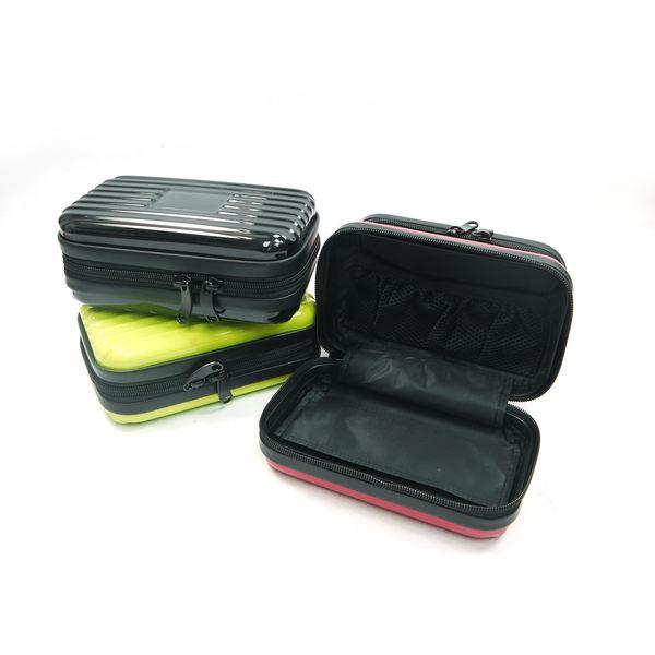 多功能輕巧ABS/PC硬殼過夜包盥洗包(隨機色1入)