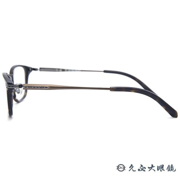 RETROCRAFT 眼鏡 RC1063 DEM (琥珀) 義大利製 鈦 近視眼鏡 久必大眼鏡