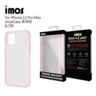【愛瘋潮】iPhone 12 Pro Max 6.7吋 (粉色) imos Case 耐衝擊軍規保護殼 手機殼 防撞殼 防摔殼