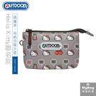 OUTDOOR x Hello Kitty 零錢包 聯名款 蘋果牛奶 三層零錢包 ODKT19A03 得意時袋