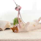 逗貓棒羽毛鈴鐺小貓的玩具貓咪用品寵物幼貓奶貓逗貓棒仙女逗貓棒