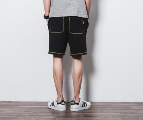 找到自己 MD 日系 潮 男 街頭 休閒簡約 針織寬鬆 休閒短褲 五分褲 沙灘短褲 熱褲