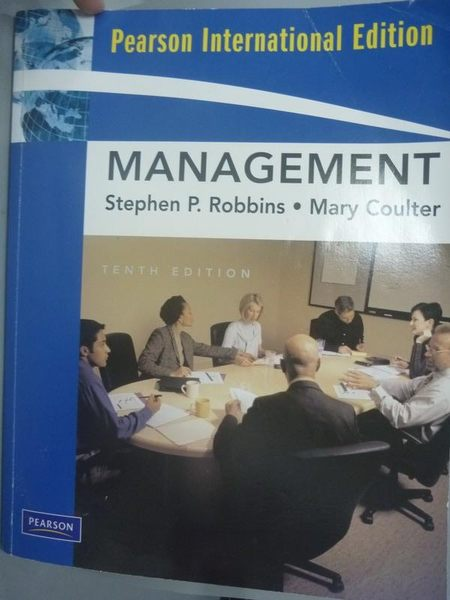 【書寶二手書T6/大學商學_YGM】Management 10/e_Stephen P. Robbins, Mary C