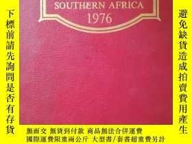 二手書博民逛書店who`s罕見who of southern&afric1976
