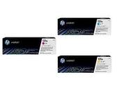 HP ㊣原廠碳粉匣CF211A藍色/CF212A黃色/CF213A紅色 單支任選131A(標準量1,500張)