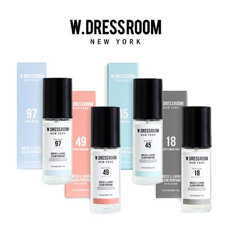 韓國 W-DRESSROOM 衣物居家香氛噴霧 70ml 香氛 噴霧 居家 衣物 香味 室內香氛