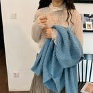 透視網紗褶縐高領蕾絲上衣T恤【29-23-8T21582-19】ibella 艾貝拉