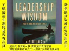 二手書博民逛書店比較少見《LEADERSHIP罕見WISDOM》(領導的智慧)Y384607 Robin Sharma Rob