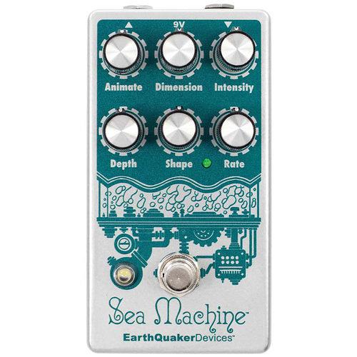 美國 Earthquaker Device Sea Machine V3 Chorus 和聲效果器 總代理公司貨 保固一年