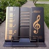 古琴吉他 桌面樂器曲譜架 金屬用便攜簡易 多檔可調可摺疊平板架 設計師生活 NMS