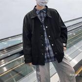 (萬聖節)牛仔外套男士正韓潮流工裝夾克春秋季修身帥氣學生棒球服