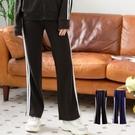 時尚雙白條貼邊口袋直筒休閒褲(XS-5L)Only You 中大尺碼 MIT台灣製 【B8063】
