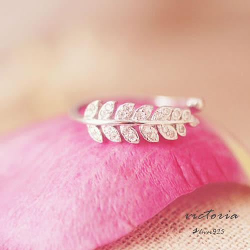 S925銀甜美魅力、迷人風采戒指-維多利亞160707