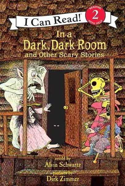 (二手書)An I Can Read Book Level 2: In a Dark, Dark Room and Other Scary..