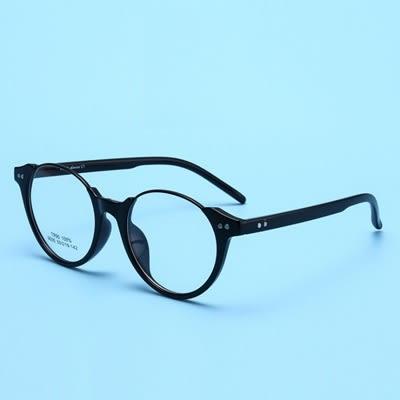 鏡框(半框)-時尚精選個性百搭男女平光眼鏡6色73oe80[巴黎精品]