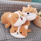 毛絨玩具狗狗抱枕公仔抱著睡覺娃娃搞怪抱枕可愛女生玩偶禮物
