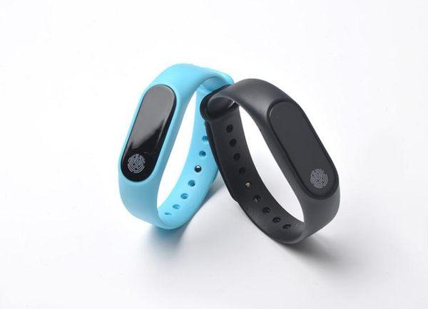 m2智慧觸屏手環心率監測運動計步男女成人腕帶錶藍牙提醒安卓IOS『小淇嚴選』
