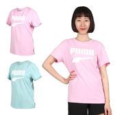 PUMA Downtown 女流行系列短袖T恤(慢跑 路跑 短T 免運 ≡排汗專家≡