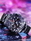 手錶2019新款手錶男全自動時尚潮流學生男士手錶防水機械電子運動夜光 聖誕交換禮物
