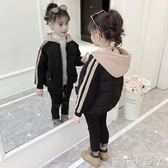 兒童厚外套女童棉衣新款冬裝中大童韓版洋氣冬季加厚棉服棉襖潮 蘿莉小腳ㄚ