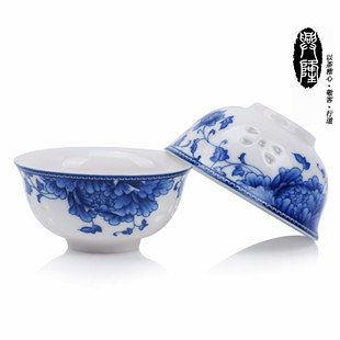 青花瓷 功夫茶具  茶杯