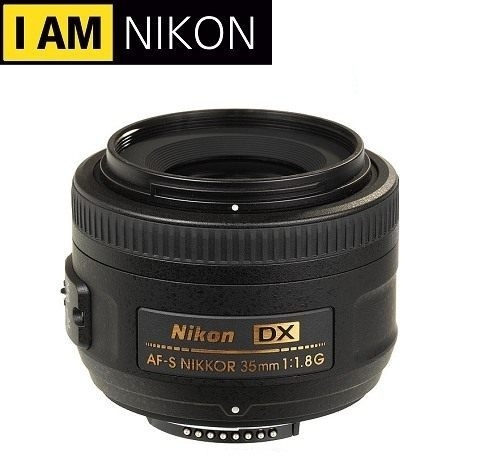[EYE DC] Nikon AF-S DX Nikkor 35mm F1.8G 平行輸入 一年保固 (12.24期0利率) ★送拭鏡布